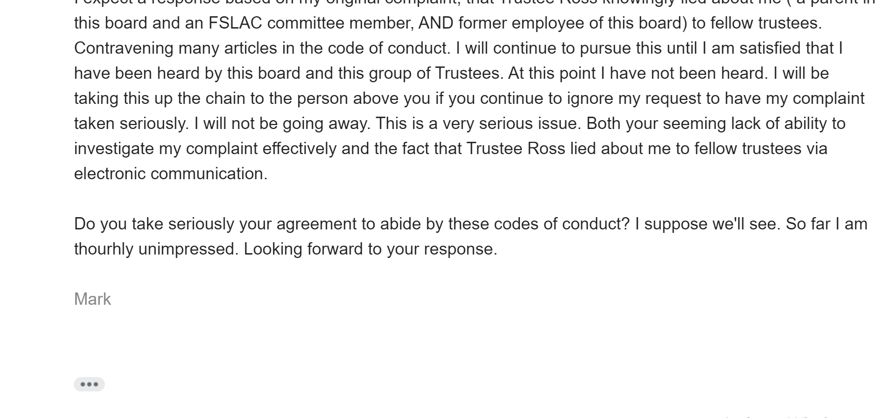 lying upper grand trustee chair 1001