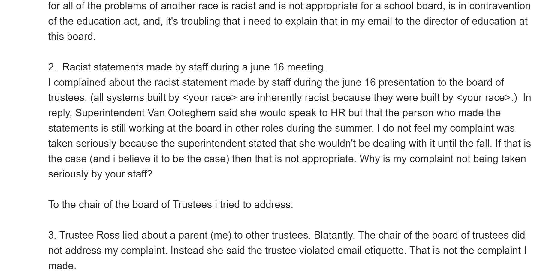 equity plan racist ugdsb 6